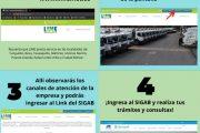Accede al SIGAB a través de la página web del operador de tu zona